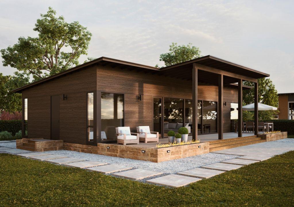 Taloesittely Raisio - yksilöllinen Glass House talo