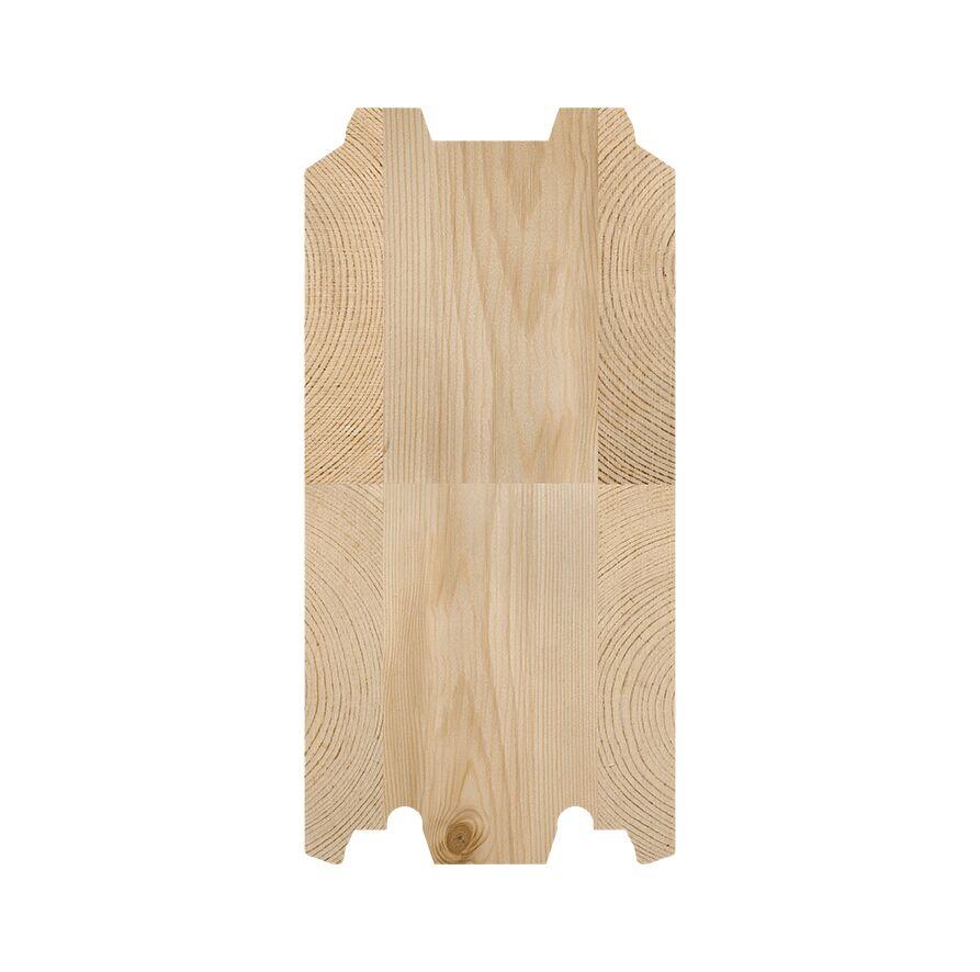 SmartLog™ 135 x 275 setningsfritt tømmer til fritidsboliger