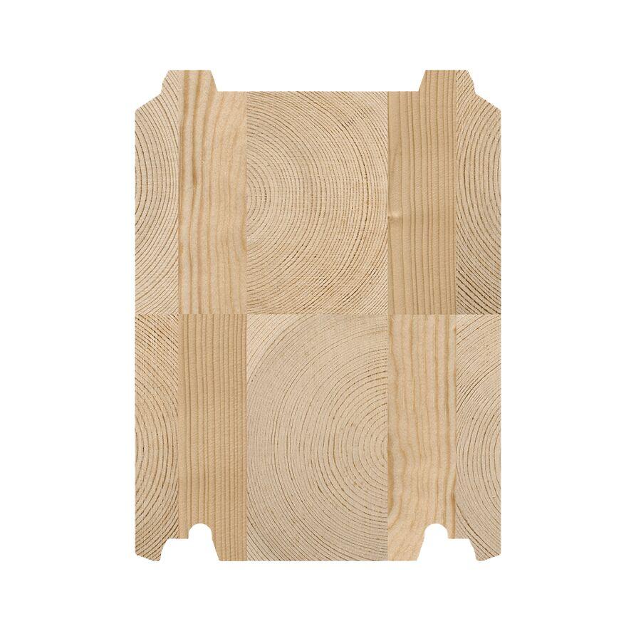 SmartLog™ 205 x 275 setningsfritt tømmer til villaer og fritidsboliger