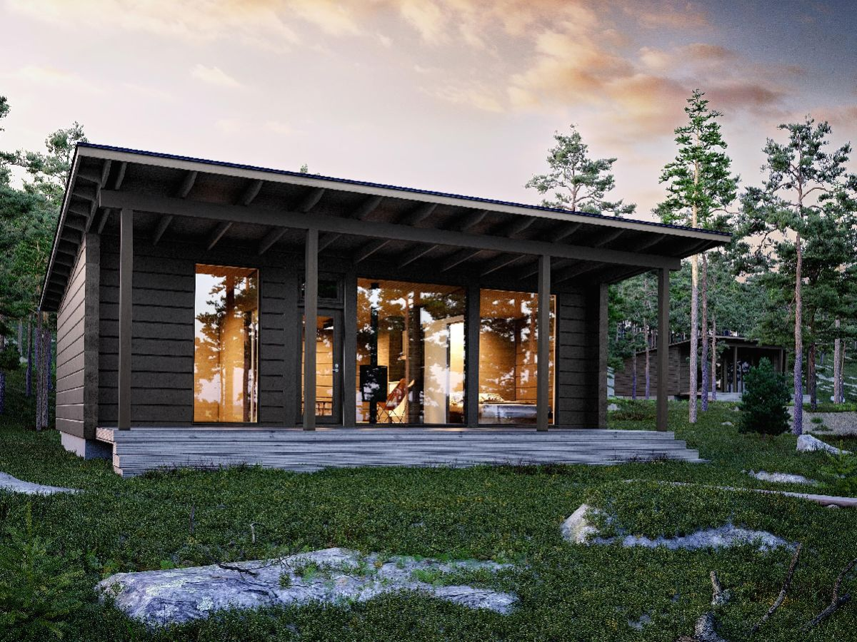 Kontio Arctic Glass House Cabin