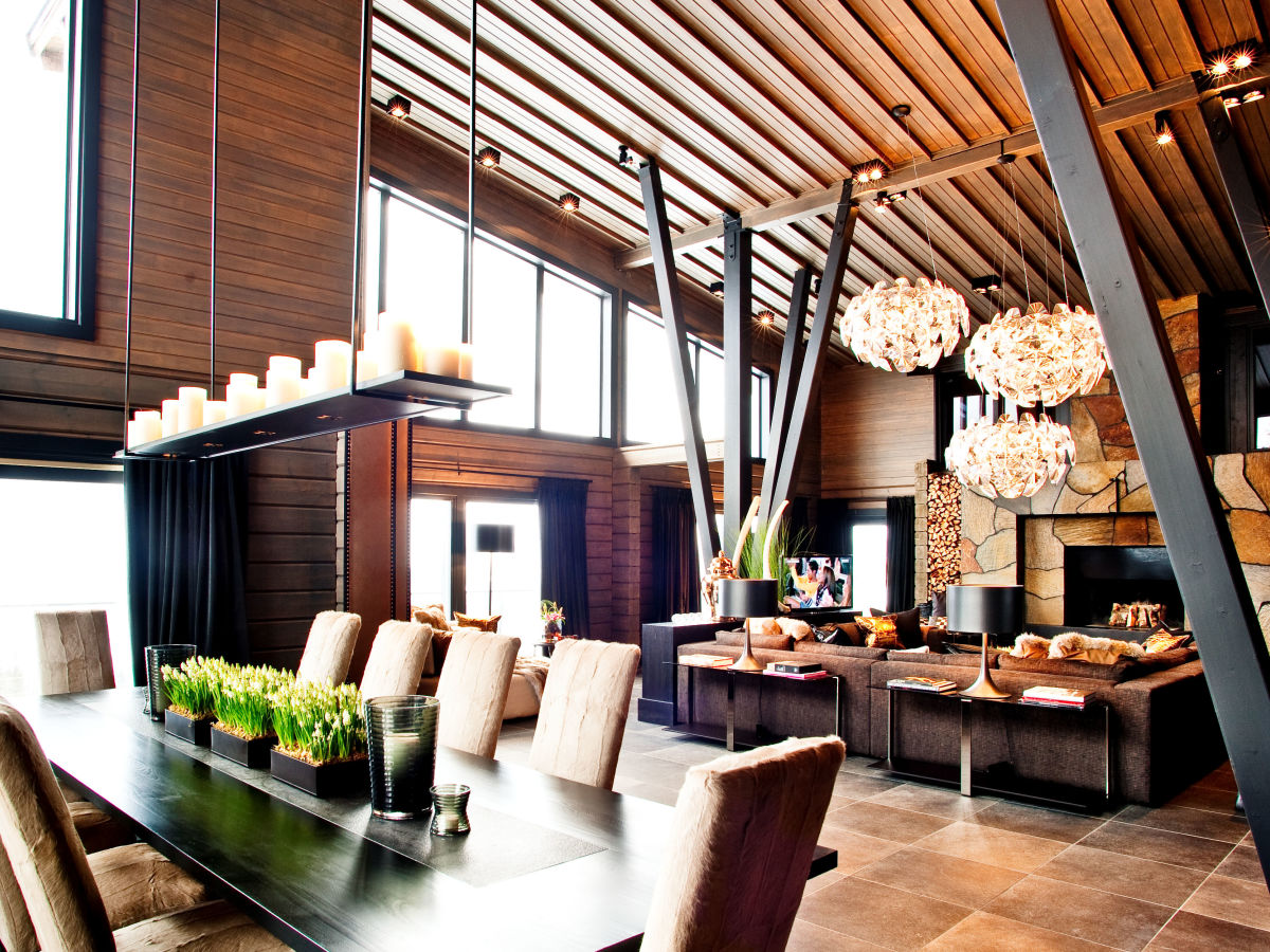 Kontio Copperhill Villa luksus luxury Åre hiihtokeskus Ruotsi Sverige Sweden