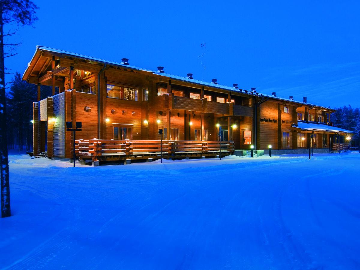 Kontio headquarters in the winter