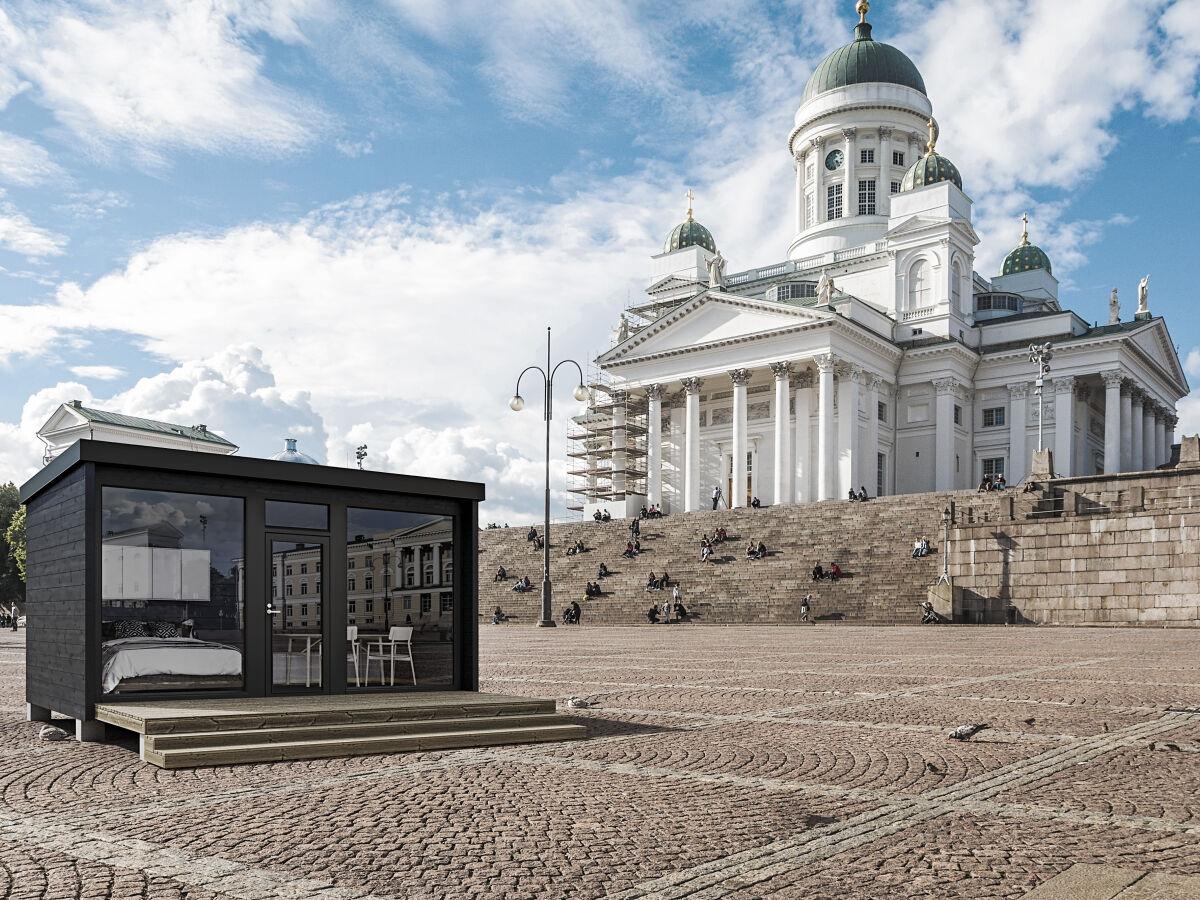 Kontio Glass Cabin i Helsinfors