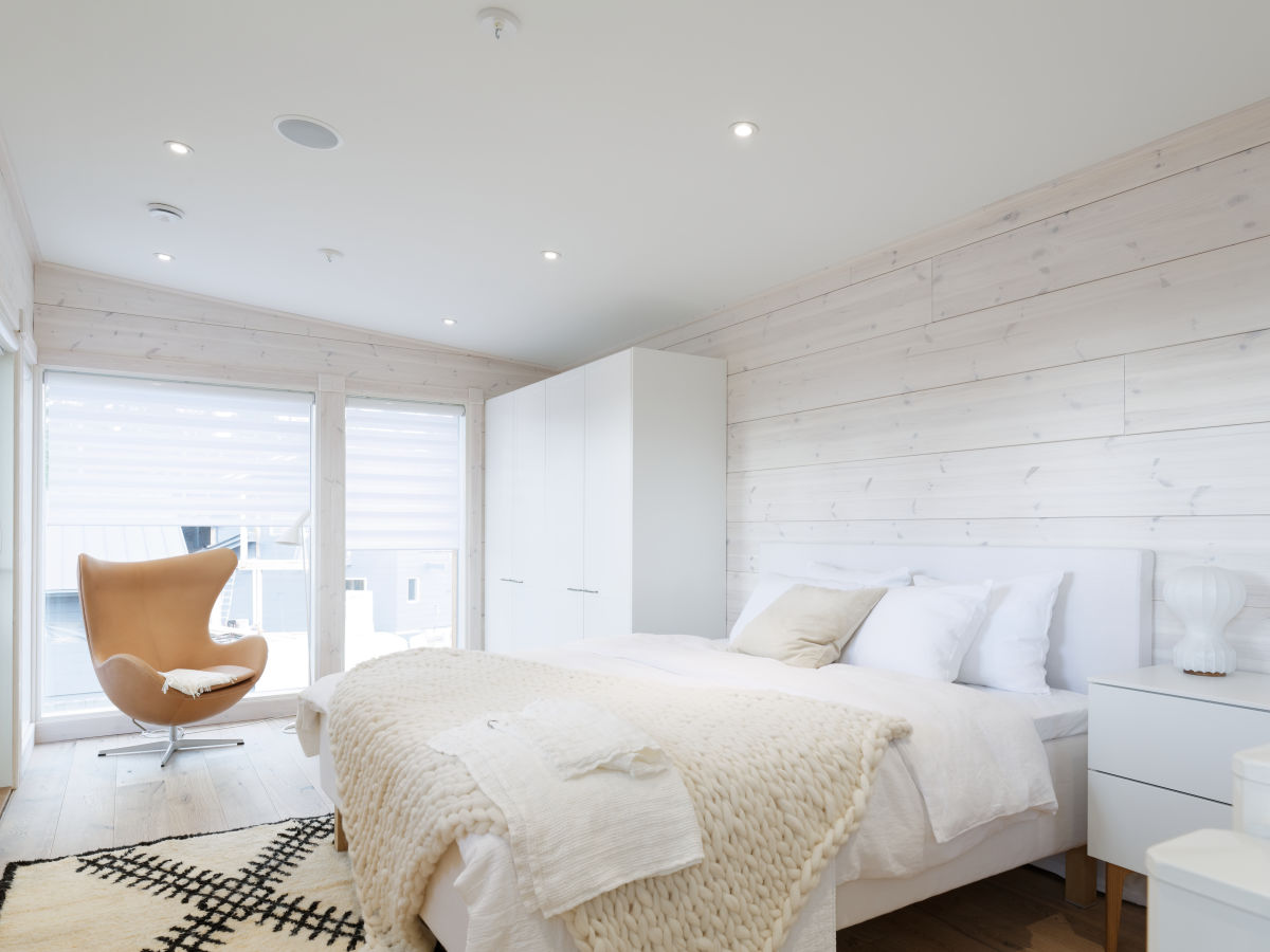 Kontio Toive Mikkeli asuntomessut makuuhuone living valkoinen