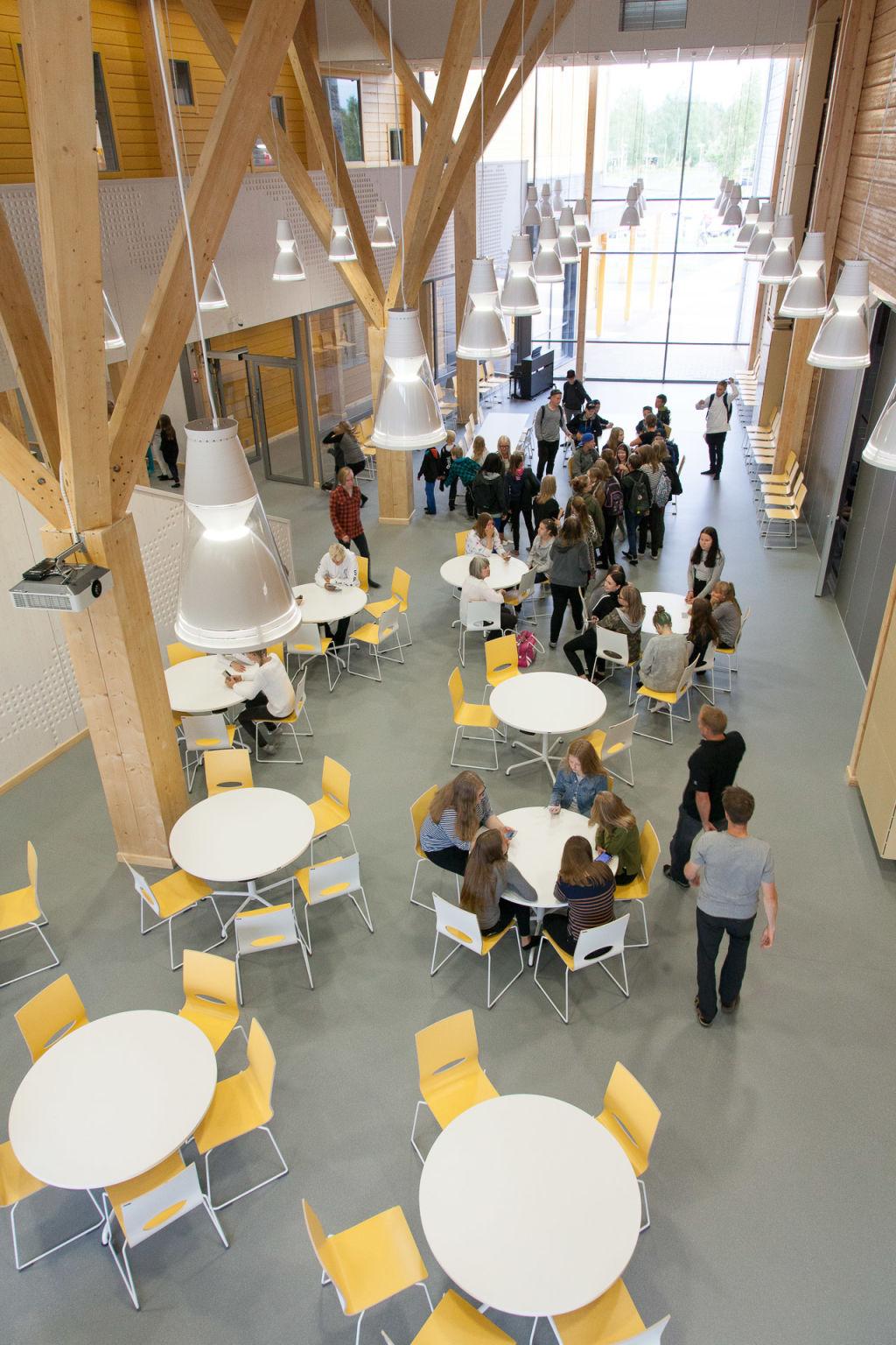 Kontio Pudasjärci School Campus