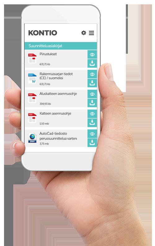 OmaKontio Ajasta laitteesta ja paikasta riippumaton digitaalinen projektinhallintatyökalu on mukanasi kaikkialla missä löytyy nettiyhteys