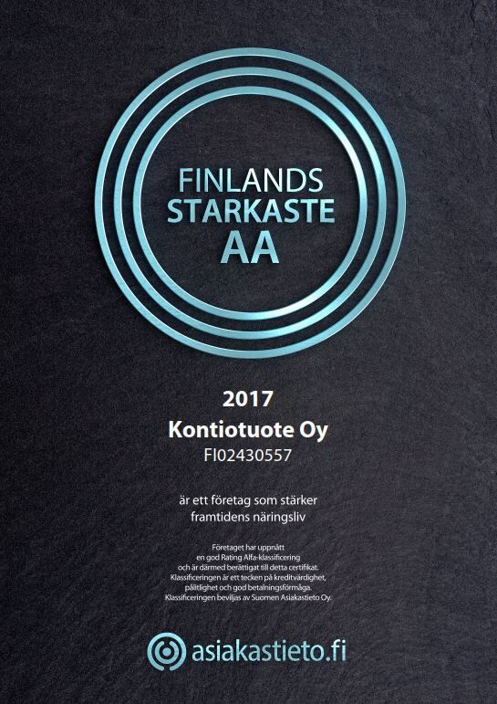 Finlands sterkeste-sertifikatet