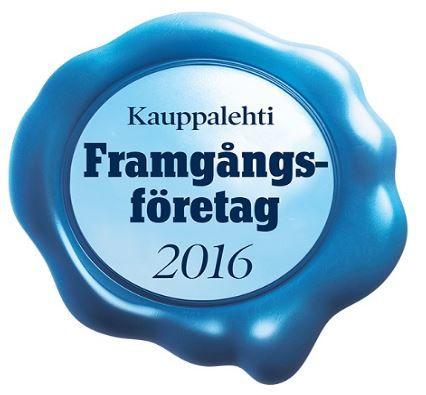 Utifrån sin ekonomiska prestationsförmåga har Kontio klassificerats som ett framgångsföretag av Kauppalehti