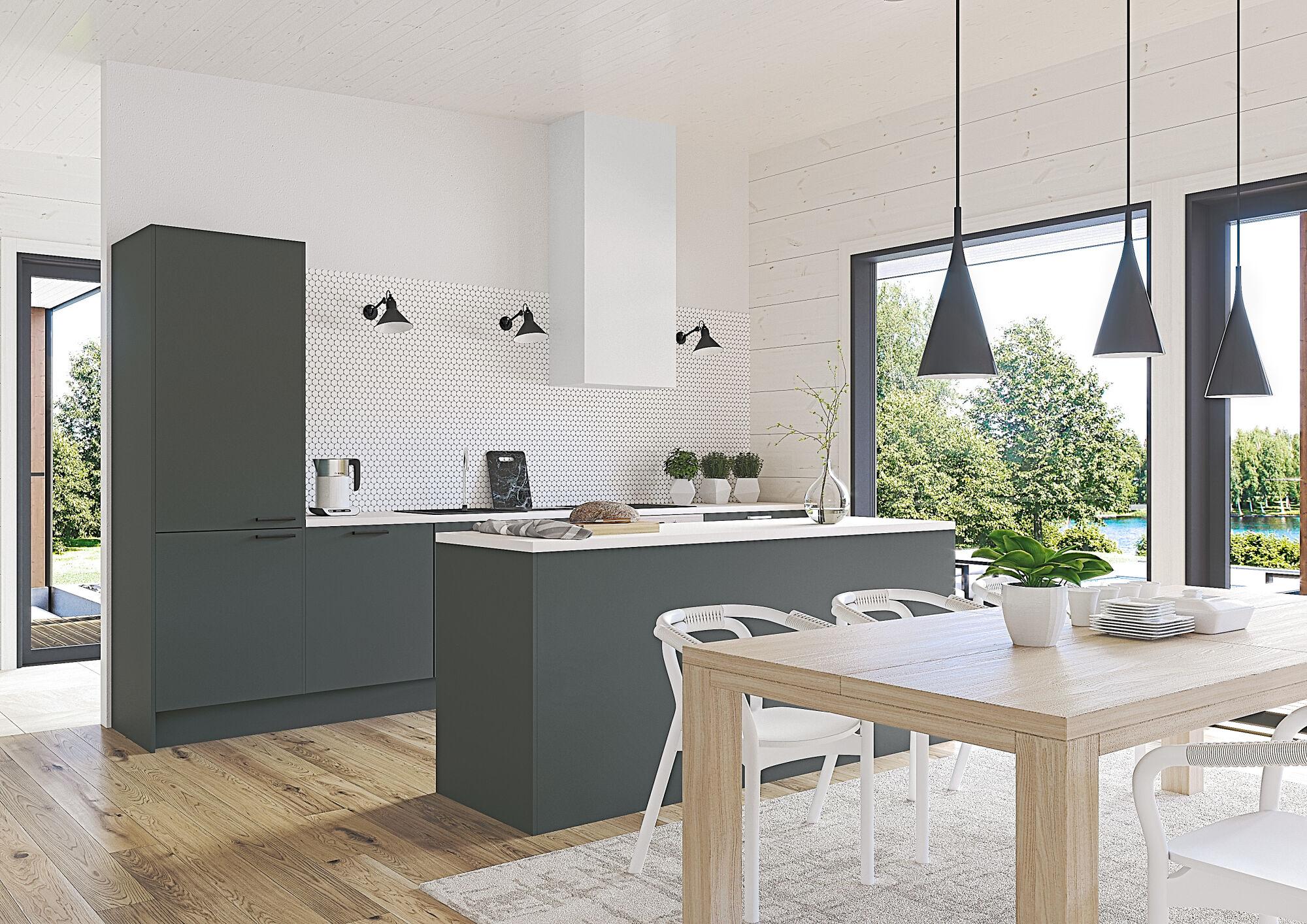 Kontio Living kök och interiör