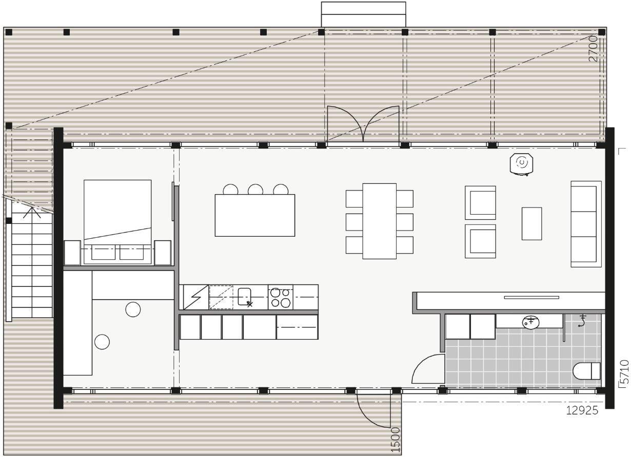 Kontio Glass House 80 Arlanda Nybygget