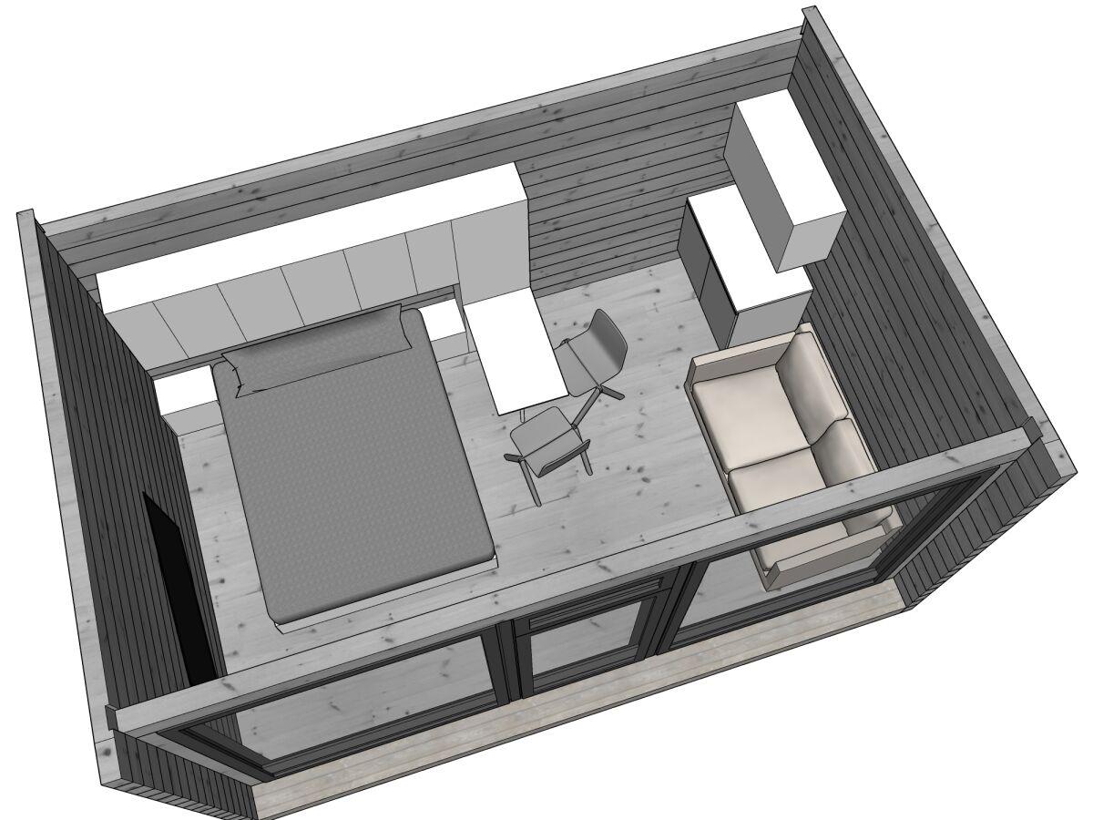 Kontio Glass Cabin Minimökki