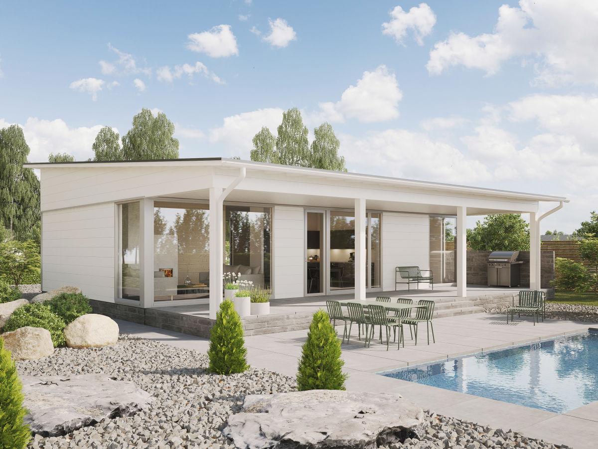 Kontio Glass House 100 talo